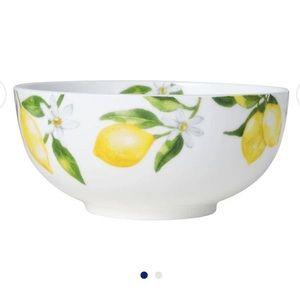 """NWT 4 Lemon 🍋 Mikasa 6"""" bowls"""